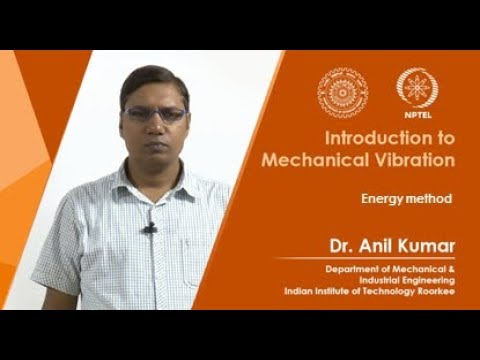 Free vibration of SDoF systems: Energy method (W2:L2)