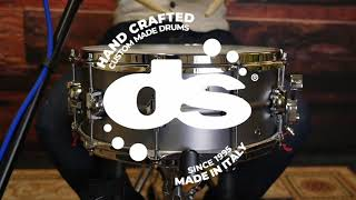 Steel 14x6 Snare Drum by DS Drum (Sound Examples)