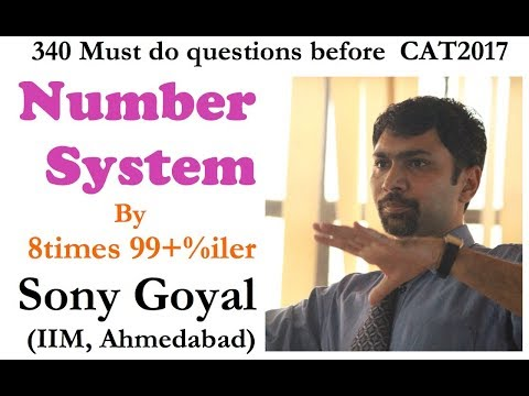 Must Do questions before CAT 2017  Number System 1702