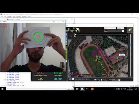 Fully Autonomous Drone Simulation: OpenCV + Dronekit + Python - YouTube