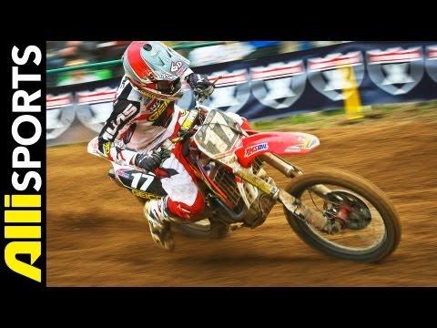 Thunder Valley National Motocross 2013 Highlights, Alli Sports Best Of