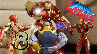 IRONMAN Stop Motion Action Video Part 8