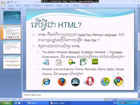 HTML Tutorial: What Is HTML ?