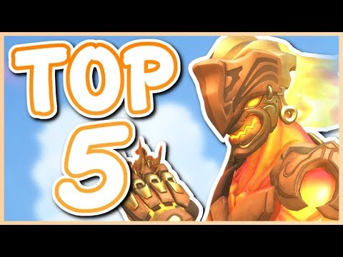 Overwatch - TOP 5 BEST GENJI SKINS
