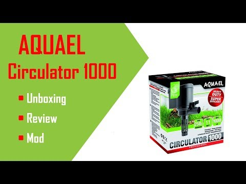 AquaEl Circulator - Unboxing, Review & Modification. Great Shrimp Filter?