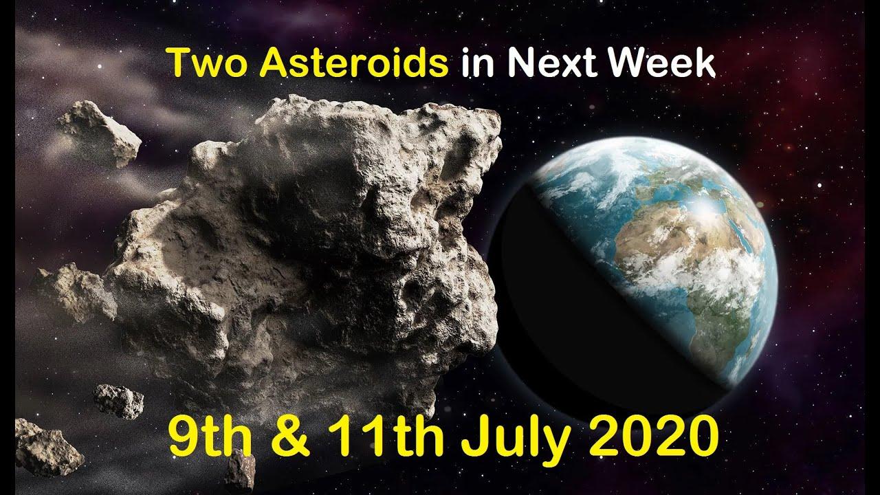 Asteroid  2006 NL | Asteroid 2020 MU1 | 9 & 11 July Asteroids | NASA NEO | JPL | PHA
