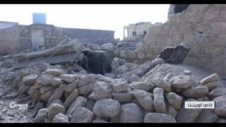 اربعة قتلى من عائلة واحدة في قصف جوي ليلاً