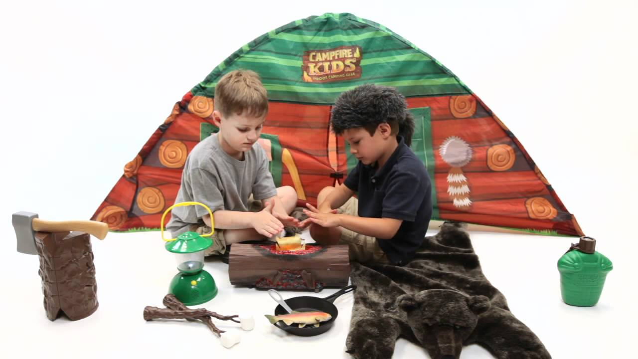 Campfire Kids Indoor Camping Gear