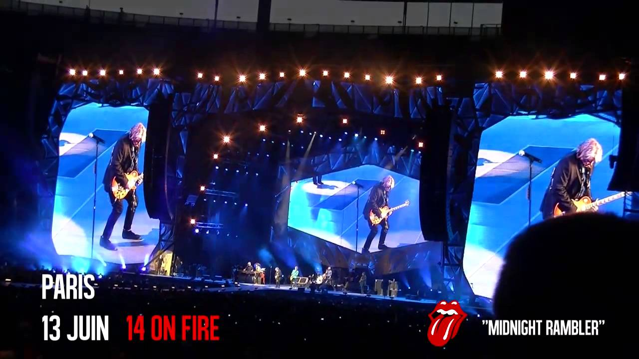 midnight rambler the rolling stones paris stade de france 14 on fire tour 13 juin 2014. Black Bedroom Furniture Sets. Home Design Ideas
