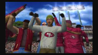 ESPN NFL 2K5 Gameplay - ESPN 25th anniversary 49ers vs Giants botched snap