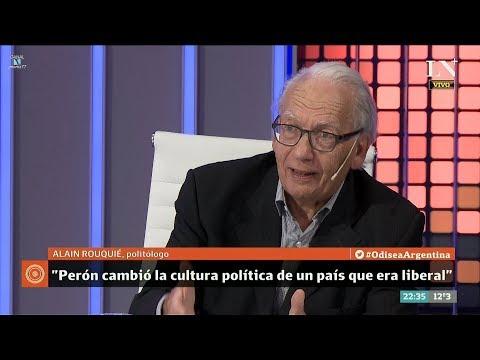 """Alain Rouquié sobre """"el peronismo"""", en """"Odisea Argentina"""", de Carlos Pagni - 04/09/17"""