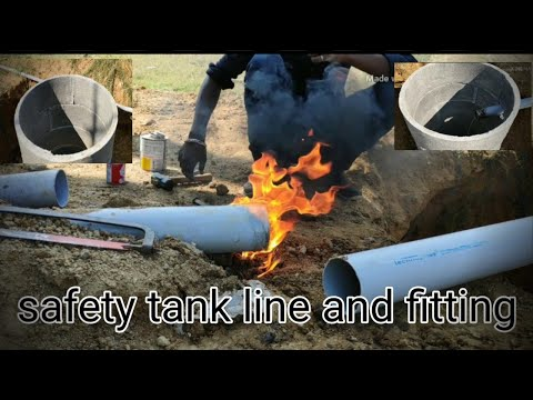 Septic tank and Drainage pipeline  and fitting in Tamil