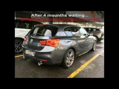 bmw m140i xdrive m performance exhaust youtube. Black Bedroom Furniture Sets. Home Design Ideas