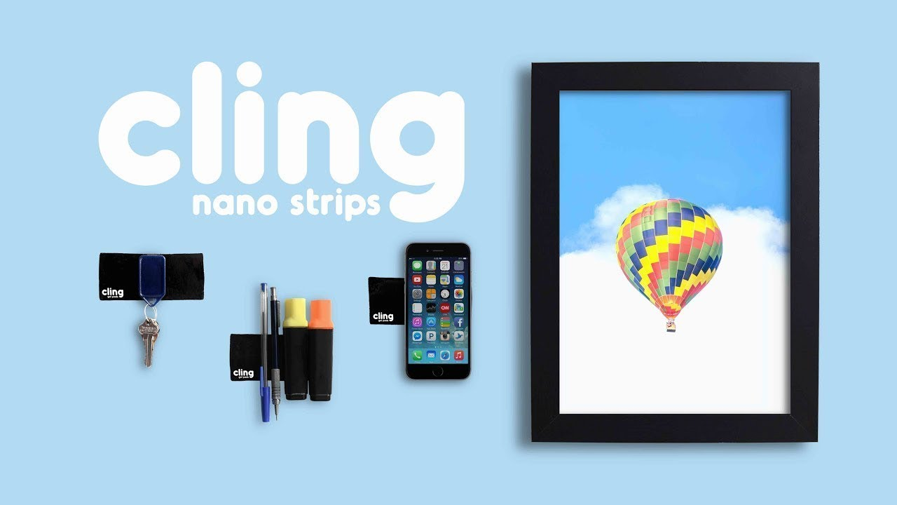 Cling NanoSTRIPS Home Pack // Set of 12 // Clear video thumbnail