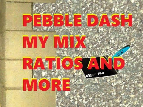 Dash Mix Sand And Cement Render And Under Coat Scratch Coat Plus Ratios Of Both Live Stream/How To P