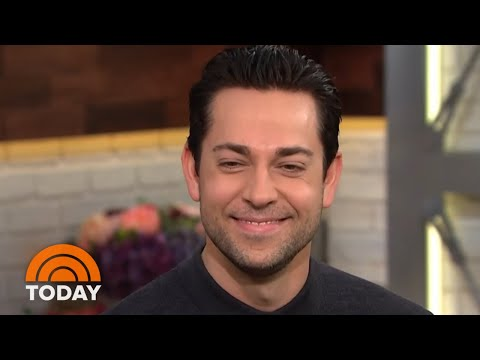 Zachary Levi On Joining Cast Of 'The Marvelous Mrs. Maisel' | TODAY