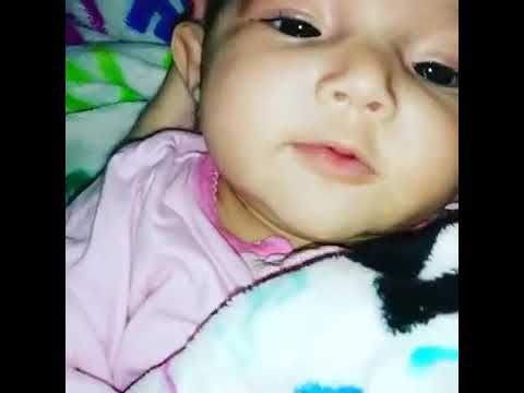 My 3 Month Old Baby Girl Saying I Love You Youtube
