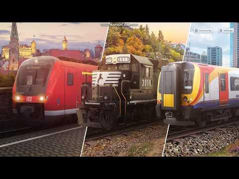 Train Simulator 2020 Dash-8 Csx Train With a K5LA-R24 |