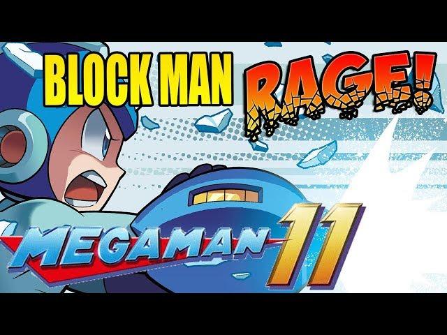 BLOCK MAN RAGE! Mega Man 11!