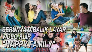 "The Onsu Family - Serunya dibalik layar video klip ""HAPPY FAMILY"""