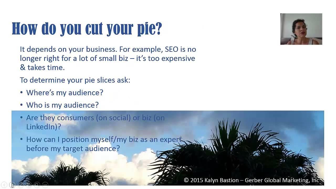Mastering the marketing pie chart youtube mastering the marketing pie chart nvjuhfo Image collections
