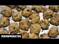 How to make (THE ULTIMATE) CHOCOLATE CHIPS COOKIES - FAMOUS AMOS?????!!!   KUIH RAYA