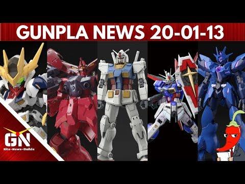 Gunpla News | Kits Reissued, RX 78 Origins, RG Impulse, Barbatos,Strike,Top 5 Best Builds