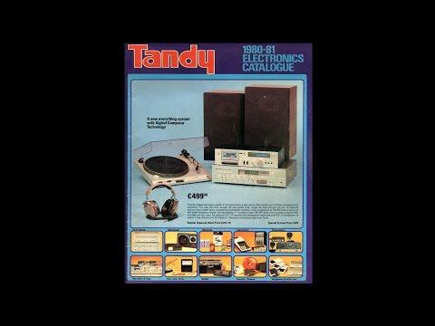 1980-81 Tandy Electronics Catalogue (UK)