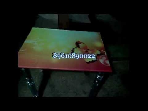 Стеклянный стол для кухни на заказ - интернет магазин стеклянных столов.