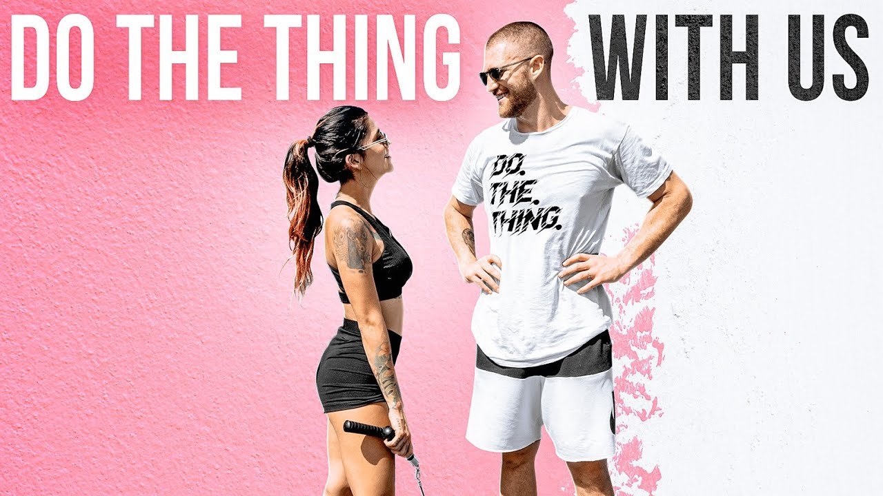 Working Out With My Wife (15 Min Follow Along)