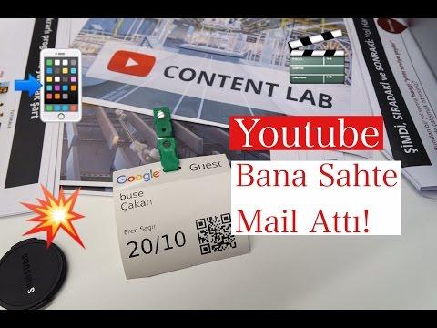 Vlog // Youtube Bana Sahte Mail Attı! || Content Lab || Buse Çakan