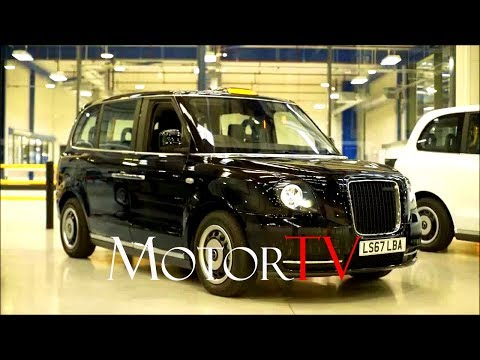 CAR FACTORY : THE NEW 2018 TX ECITY LONDON TAXI PRODUCTION, DESIGN & INTERVIEW (ENG)