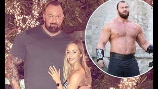 Game Of Thrones star Thor Bjornsson reveals he's been trolled over his girlfriend's height