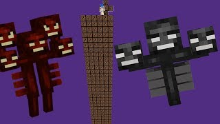 WITHER LUCKY BLOCK l O MAIS EXPLOSIVO MINECRAFT