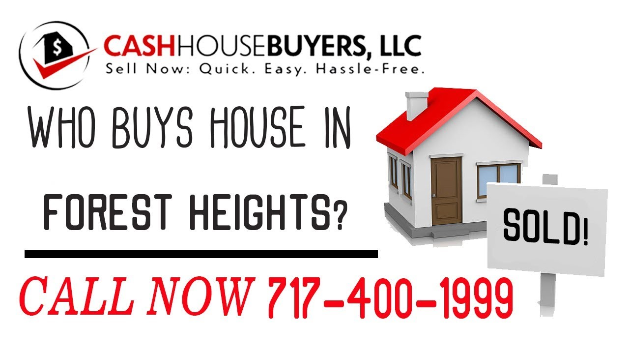 Who Buys Houses Forest Heights MD | Call 7174001999 | We Buy Houses Company Forest Heights MD
