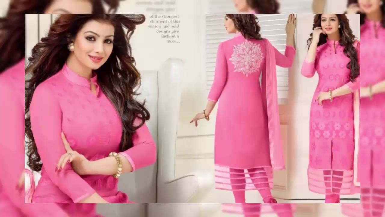 2b82729746ef Pakistani Salwar Suits Chanderi Cotton Silk Suits Collection ...