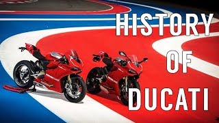 Ducati Motorcycles - History