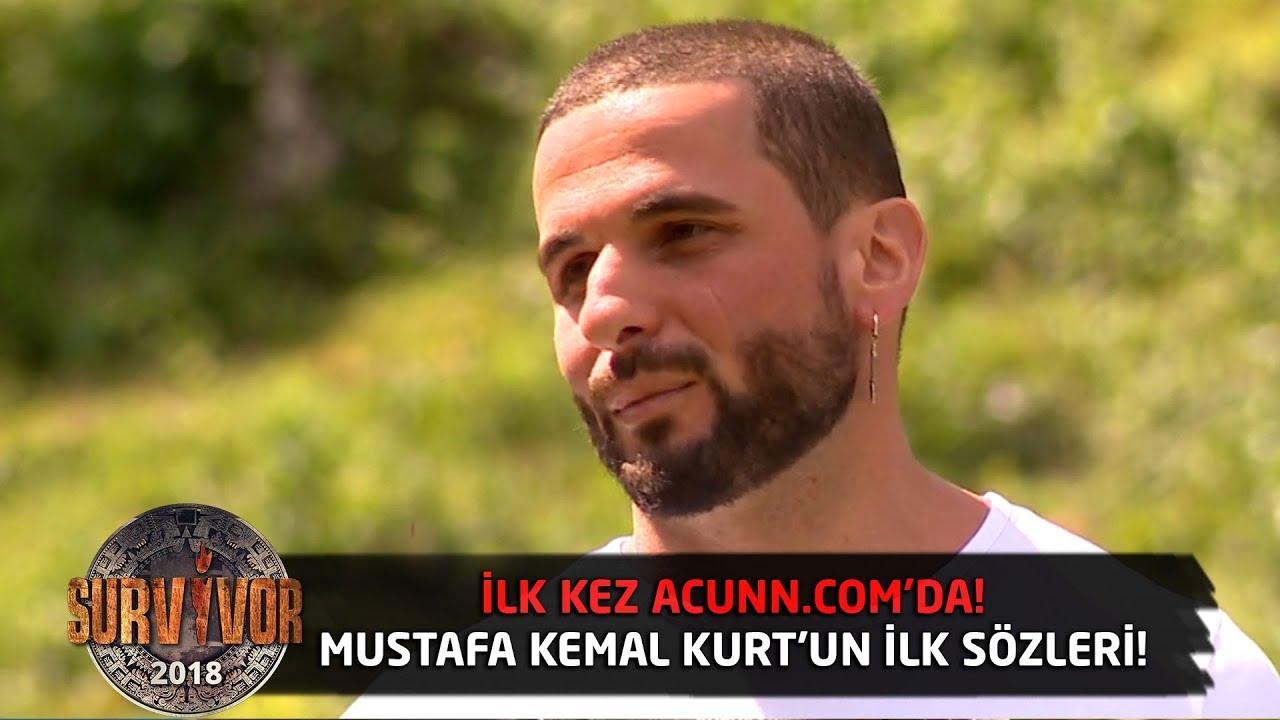 İlk kez Acunn com'da   Gönüllü Mustafa Kemal Kurt'un ilk sözleri! #1