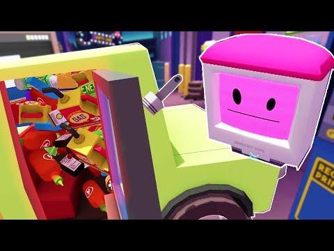 DRIFT BOT WANTS A 10000 HP CAR! - Job Simulator Infinite Overtime VR Modded 2018 Gameplay