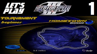Let's Play Need for Speed III: Hot Pursuit - Part 1 - Beginner Tournament - Hometown