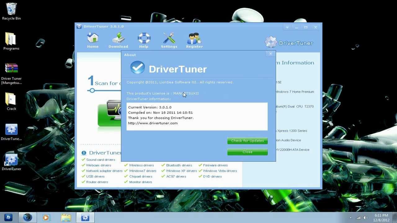 driver tuner 3.1.0.0 license key