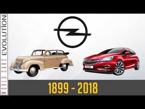 W.C.E – Opel Evolution (1899 – 2018)