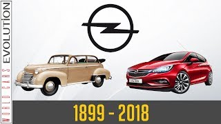 W.C.E - Opel Evolution (1899 - 2018)