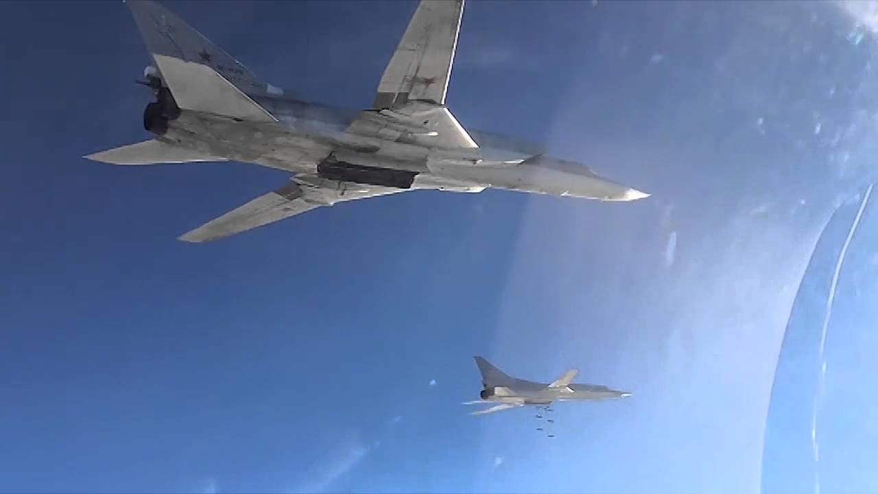 Watch This Video Of Iranian F 14 Tomcats Escorting A Russian Tu 95