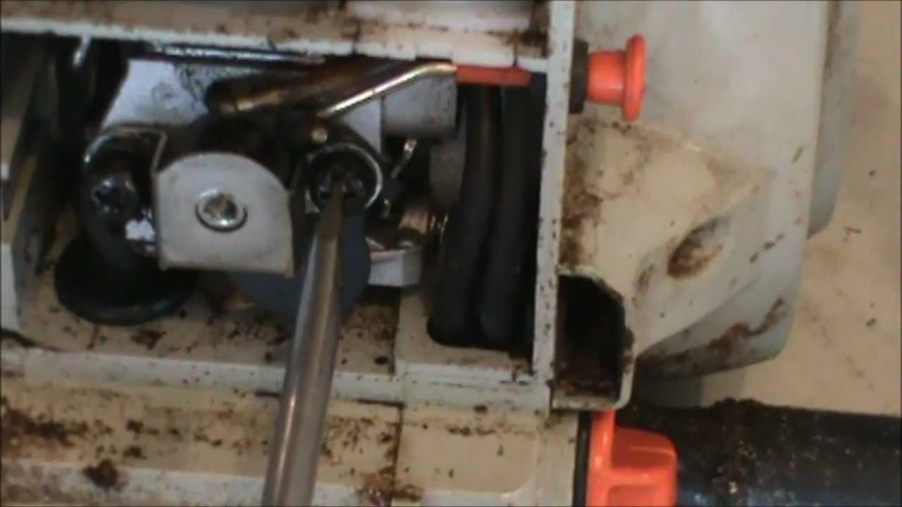 Echo CS-346 Chainsaw repair