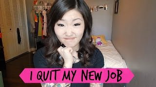 I Quit My New Job | HelloHannahCho