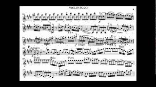Bach, J.S. violin concerto in E major BWV 1042
