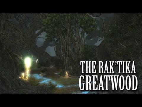 FFXIV OST The Rak'tika Greatwood Theme #1 ( Civilizations )