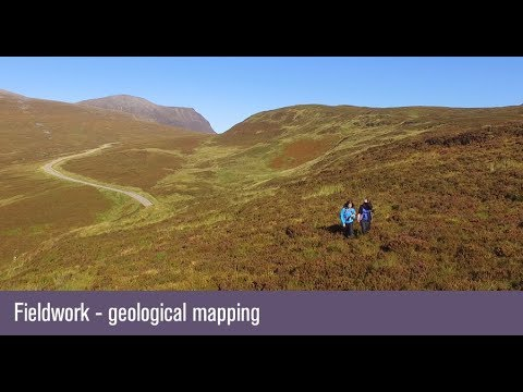 Geological mapping fieldwork - University of Birmingham