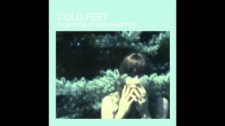 http://coldfeet.bandcamp.com/ the visor, shading me from everything besides her, she makes her way through autumn leaves, in winter, it's colder than hell out ...